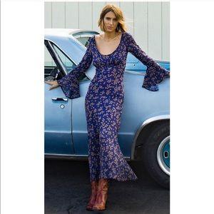 Free People Novella Royale Heather Dress XS